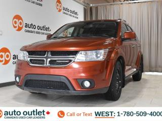 Used 2014 Dodge Journey RT, awd, sport, navigation, sunroof, third row seating, heated front seats, heated steering wheel for sale in Edmonton, AB