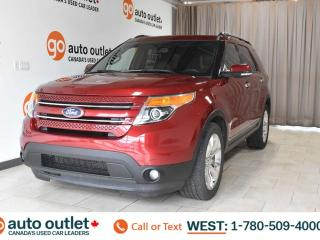 Used 2014 Ford Explorer Limited, 4WD, Heated front & rear seats, Heated steering wheel, Navigation, Backup camera for sale in Edmonton, AB