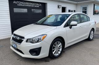 Used 2014 Subaru Impreza for sale in Kingston, ON