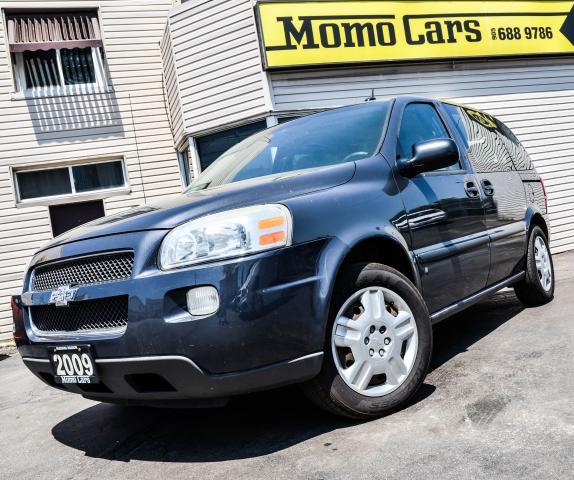 2009 Chevrolet Uplander V6! cargo! 7 passenger! Sliding doors!