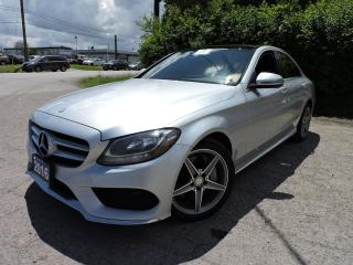 Used 2016 Mercedes-Benz C-Class C300 C 300 | AMGpkg/RedInterior/PanoRoof/Navi for sale in BRAMPTON, ON