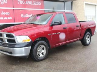 Used 2012 RAM 1500 ST 4x4 Crew Cab for sale in Edmonton, AB