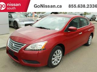 Used 2014 Nissan Sentra SV PUSH BUTTON LOW KMS for sale in Edmonton, AB