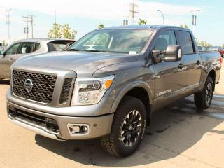New 2019 Nissan Titan PRO-4X 4x4 Crew Cab 139.8 in. WB for sale in Edmonton, AB
