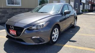 Used 2015 Mazda MAZDA3 GX-LOW KM-1 OWNER OFF LEASE-WARRANTY for sale in Tilbury, ON