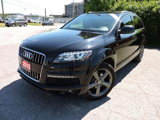 Used 2015 Audi Q7 TDI | S-LINE | NAV | PANO ROOF|  Vorsprung Edition for sale in BRAMPTON, ON