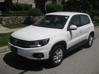 Used 2012 Volkswagen Tiguan 2.0TSI, CERTIFIED, NO ACCIDENTS, LOW KMS, 67000KMS for sale in Toronto, ON