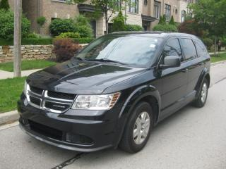 Used 2012 Dodge Journey 7 PASSENGERS, , CERTIFIED, NO ACCIDENTS, DVD for sale in Toronto, ON