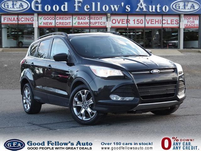 2014 Ford Escape SE MODEL, 1.6 ECOBOOST, LEATHER SEATS, NAVIGATION