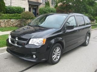 Used 2015 Dodge Grand Caravan SXT PREMIUM PLUS, CERTIFIED, LEATHER, NO ACCIDENTS for sale in Toronto, ON
