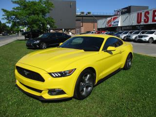 Used 2015 Ford Mustang V6~AUTOMATIC~BACK-UP CAM.~REMOTE START~CERTIFIED for sale in Toronto, ON
