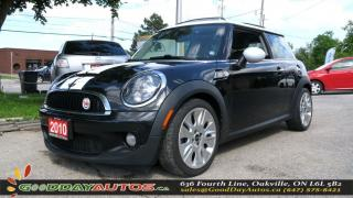Used 2010 MINI Cooper S CAMDEN EDITION for sale in Oakville, ON