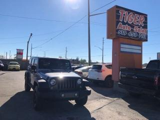 Used 2016 Jeep Wrangler UNLIMITED SPORT**ONLY 42KMS**AUTOMATIC**CERTIFIED for sale in London, ON