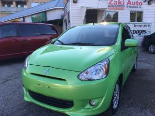 Used 2014 Mitsubishi Mirage SE/Clean Carfax/ Safety Included Price for sale in Toronto, ON
