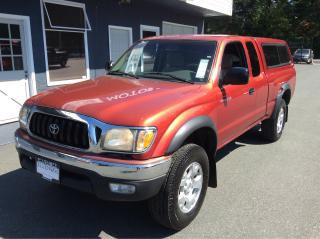 Used 2002 Toyota Tacoma PreRunner for sale in Parksville, BC