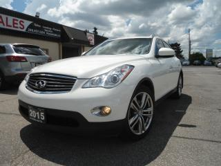 Used 2015 Infiniti QX50 AWD 360 CAMERA B-TOOTH H-LEATHER SEATS SUNROOF SAF for sale in Oakville, ON