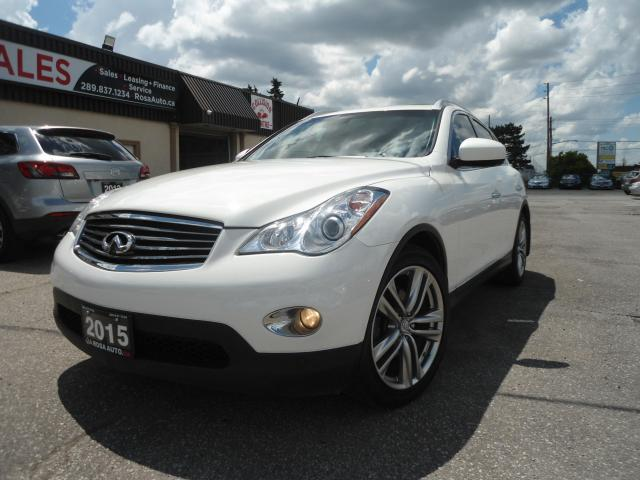 2015 Infiniti QX50 AWD 360 CAMERA B-TOOTH H-LEATHER SEATS SUNROOF SAF