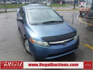 Used 2008 Honda Civic 4D Sedan for sale in Calgary, AB