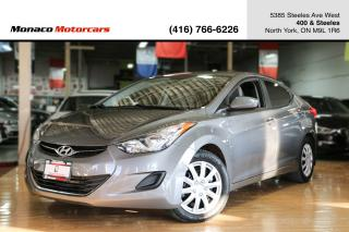 Used 2013 Hyundai Elantra GL AUTO - ACTIVE ECO|HEATED SEATS|FULLY CERTIFIED for sale in North York, ON