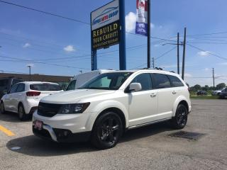 Used 2018 Dodge Journey CROSSROAD*BACK-UP CAMERA-DVD*HEATED Seats - Driver AND PASSENGER*KEYLESS ENTRY*LEATHER*NAVI*PARKING for sale in London, ON