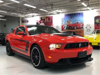 Used 2012 Ford Mustang Boss 302 for sale in Paris, ON