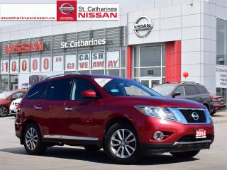 Used 2014 Nissan Pathfinder 2014 Nissan Pathfinder - 4WD 4dr SL for sale in St. Catharines, ON
