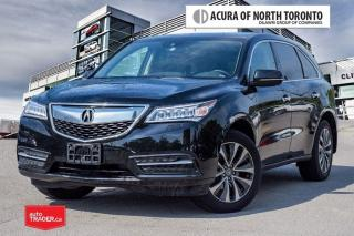 Used 2016 Acura MDX Navi No Accident| Remote Start| Blind Spot for sale in Thornhill, ON