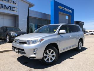 Used 2013 Toyota Highlander HYBRID 4DR 4WD for sale in Barrie, ON