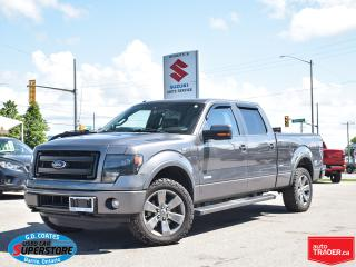 Used 2014 Ford F-150 FX4 Super Crew 4x4 ~Nav ~Leather ~Power Moonroof for sale in Barrie, ON