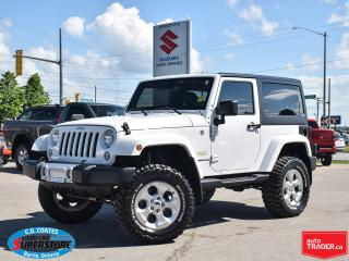 Used 2014 Jeep Wrangler SAHARA 4X4 for sale in Barrie, ON