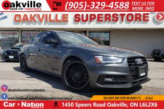 Used 2015 Audi A4 2.0T | COMP PKG | NAV | B/U CAM | SUNROOF for sale in Oakville, ON