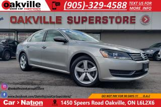 Used 2012 Volkswagen Passat 2.5L COMFORTLINE | BLUETOOTH | SUNROOF | LEATHER for sale in Oakville, ON