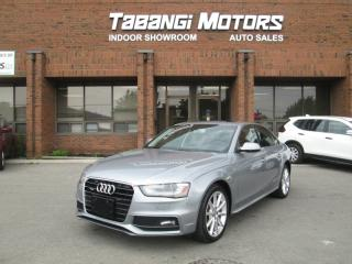 Used 2015 Audi A4 PROGRESSIVE | NO ACCIDENTS | S-LINE | NAVIGATION | LEATHER | for sale in Mississauga, ON
