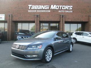 Used 2013 Volkswagen Passat HIGHLINE | NO ACCIDENTS | NAVIGATION | LEATHER | SUNROOF | for sale in Mississauga, ON