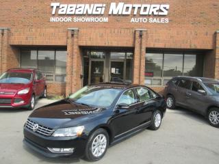 Used 2013 Volkswagen Passat TDI | HIGHLINE | NO ACCIDENTS | NAVIGATION | LEATHER | CAM | for sale in Mississauga, ON