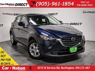 Used 2019 Mazda CX-3 GS| AWD| HEATED SEATS & STEERING WHEEL| for sale in Burlington, ON
