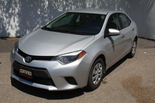 Used 2014 Toyota Corolla 4DR SDN for sale in Mississauga, ON