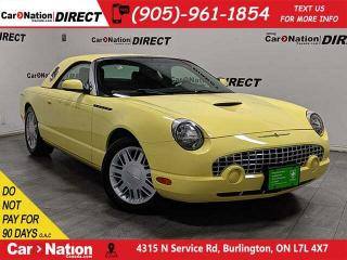 Used 2002 Ford Thunderbird Removable Top| LOW KM'S| for sale in Burlington, ON