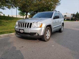 Used 2009 Jeep Grand Cherokee 4WD 4DR for sale in Vaughan, ON