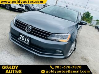 Used 2016 Volkswagen Jetta Sedan Sunroof | Alloy Wheels | Power Windows | Keyless Entry | Pow for sale in Mississauga, ON