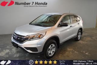 Used 2016 Honda CR-V LX| Backup Cam| Bluetooth| for sale in Woodbridge, ON