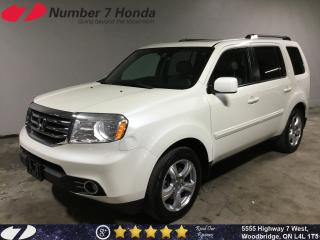 Used 2015 Honda Pilot EX-L| Leather| Backup Cam| DVD| for sale in Woodbridge, ON