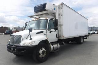 Used 2011 International 4400 Diesel 29 Foot Reefer Cube Van With Power Tailgate for sale in Burnaby, BC