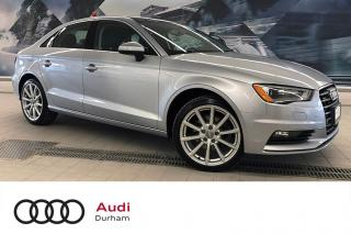 Used 2015 Audi A3 2.0T Technik + Tech Pkg | Nav | Pano Roof for sale in Whitby, ON