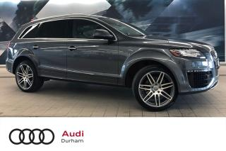 Used 2015 Audi Q7 3.0T + Driver Assist | Bose | Pano Roof for sale in Whitby, ON