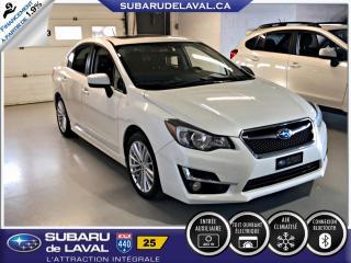 Used 2015 Subaru Impreza 2,0i Sport Awd Berline ** Toit ouvrant * for sale in Laval, QC