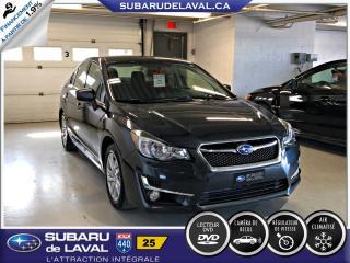Used 2015 Subaru Impreza 2,0i Touring Awd Berline ** Caméra de re for sale in Laval, QC