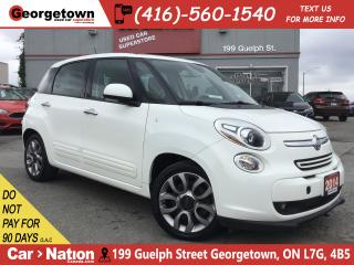 Used 2014 Fiat 500 L Sport | MANUAL | PANO ROOF | USB/AUX | B/T | for sale in Georgetown, ON