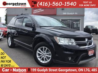 Used 2017 Dodge Journey SXT | V6 | PUSH-TO-START | USB/AUX | ALLOYS | for sale in Georgetown, ON