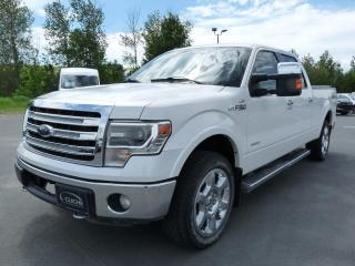 Used 2013 Ford F-150 LARIAT, CREW, ÉCOBOOST 3.5L, NAVI, 20 PC for sale in Vallée-Jonction, QC